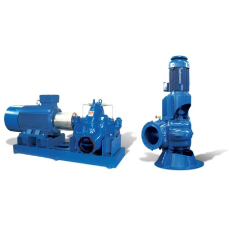 Split Case Pumps - Horizontal and Vertical