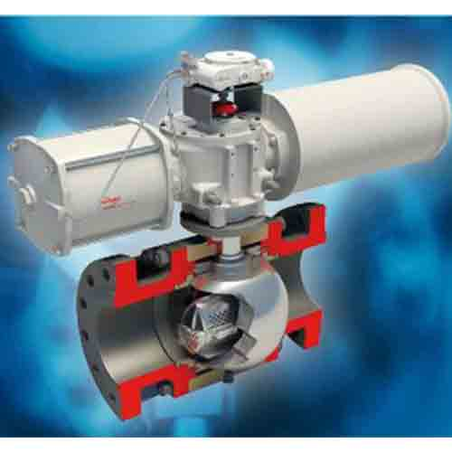 Trunnion Mounted Control Ball Valve (TMCBV)